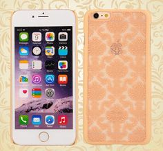 Mobile Phone Cases Fashion Transparent Palace Flower Soft Shell Scrub Back Case For Iphone 5s Iphone6 Iphone 6plus Cases Design Cell Phone Case