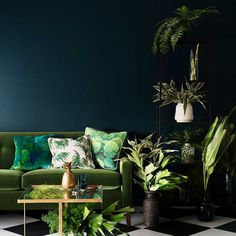 Green is good   Text by Michelle Ogundehin, Editor in Chief ELLE Decoration UK   A desire for the Indoor Outdoor look...