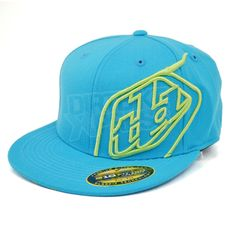 e8d61fd7092 2013 Troy Lee Designs Logo Cap - Blue Troy Lee