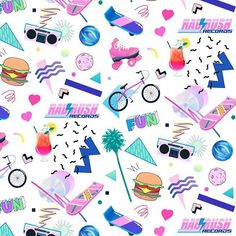 Image result for 80s sun graphic