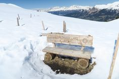 Every Walking Trail in Arosa is lined with Benches