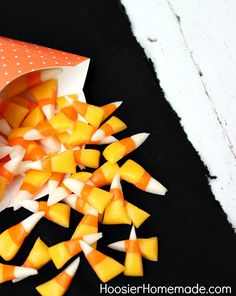 Homemade Candy Corn Recipe