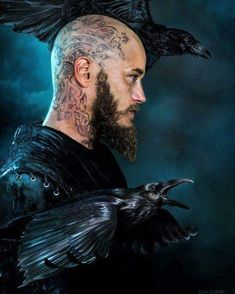 Travis Fimmel/Ragnar in The Vikings Vikings Tv Show, Vikings Season 4, Vikings Tv Series, Travis Fimmel, Ragnar Lothbrok Vikings, Viking Warrior, Viking Age, Viking Shop, Norse Mythology