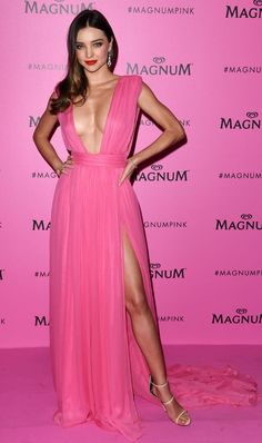 da5ca1945a Miranda Kerr is the babest of babes in pink