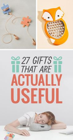 Presents that won't end up collecting dust in a corner.