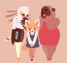 The cute furry OT3