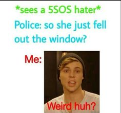Lol every 5sos fam would be like