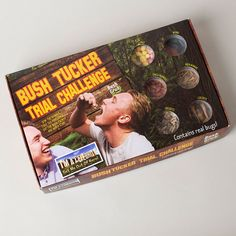 Bush Tucker Trial Challenge | GettingPersonal.co.uk Trials, Party Games, Challenges, Creatures, Gifts, Nye, Presents, Favors, Gift