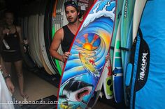 Salted Boards   Naruki Surfboard Ding Repair - Bali, Indonesia #surf #surfboard #art #bali #surfporn