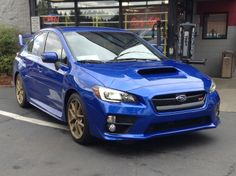 Our 2015 Subaru WRX R&D car. This lucky Subie will soon be outfitted with a hidden EcoHitch!