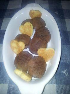 Biscotti alla nutella e biscotti in pasta frolla #heart #black #white