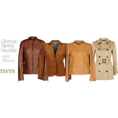WARM SPRING NEUTRALS by expressingyourtruth on Polyvore featuring polyvore, fashion, style, ESPRIT, Carven, Band of Outsiders and Jaeger