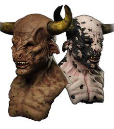Minotaur Silicone Mask