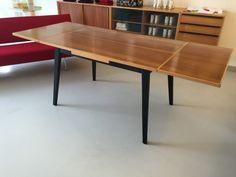 Schweizer Auszugstisch 1950 Horgen Glarus Bellmann Bill 6 Esche/Ahorn 120x40 cm Ping Pong Table, Dining Table, Furniture, Home Decor, Swiss Guard, Dinner Room, Table, Dinning Table, Interior Design