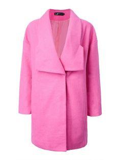 Elegant slim solid button long woolen coat gerry g coats #baby #k #coats #coats #3 #star #tireman #coats #ecomm #kyra #k #coats