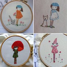 Dear Sukie Gets Crafty: Inspiration Thursday...Embroidery