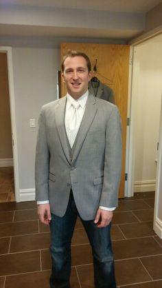 Groom opt1 white tie