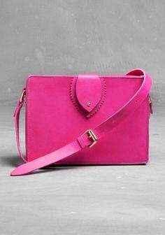 Pop Pink Satchel