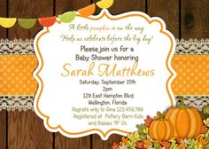 Baby Shower: Fall Themed Baby Shower Invitations Is The Newest And Best Concepts…