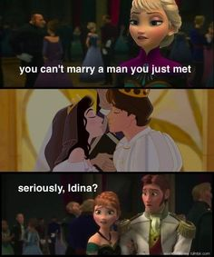 Oh the Irony!  Only Enchanted Fans would get it!    Idina Menzel's hypocrisy: | 31 Things Only True Disney Fans Will Appreciate