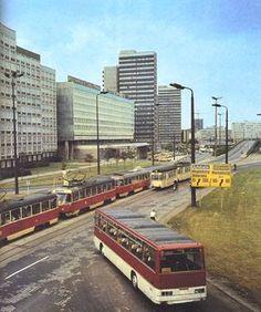 Halle Saale Riebeckplatz 1981