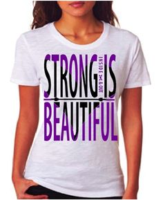 Best workout tees and tanks. Period. Strong is Beautiful Inside & Out! Tanks and Tees by WOD LOVE! Wodlove.com #wodlove @WOD LOVE CLOTHING