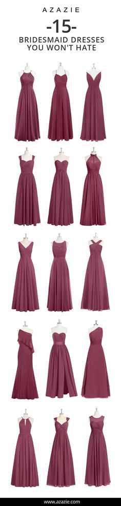 Bridesmaid dresses Azazie is the online destination for special occasion dresses. Our online boutique connects bridesmaids and brides with over 400 on-trend styles, where each is available in colors. Bridesmaid Dress Colors, Wedding Bridesmaid Dresses, Wedding Gowns, Emerald Green Bridesmaid Dresses, Evening Dresses, Prom Dresses, Short Dresses, Special Occasion Dresses, Dress Patterns