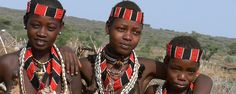 Three tribal beauties