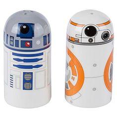Zestaw solniczka i pieprzniczka Star Wars - BB-8 & R2-D2 - Dystryktzero.pl