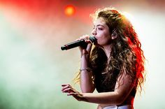 April 5:  Lorde performs on stage during the 2014 Lollapalooza Brazil at Autodromo de Interlagos in Sao Paulo, Brazil.