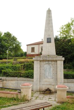 The Balkan Wars Monument and the Library behind