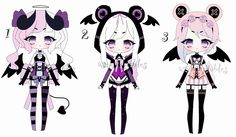 By AS-Adoptables on deviantart.