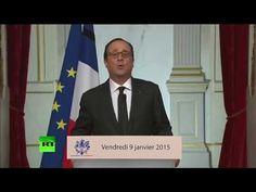 """Француски председник Оланд: """"Илуминати стоје иза терористичих напада у Паризу"""" (видео)  Француски председник Оланд одржао је говор 9. јануара посвећен терористичким нападима у Паризу. У току тог његовог говора рекао је следеће: """"Илуминати су иза терористичких"""