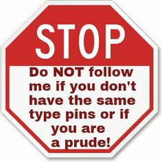 Dammit People! If my boards do not match any of yours and I notice you start following me, your ass is banned, blocked or whatever then and there! I am tired of getting emails about one of my pins being reported because someone got his or her Knickers in a Knot! Don't like it, don't do searches for what you don't want to see and don't follow people who have the chesticles or the testicles to post publicly what they like, want and desire erotically!!