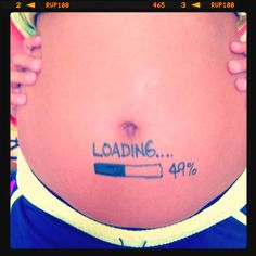 19 weeks pregnant .. ha! Im doing this !