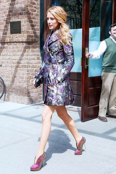 11 Statement Coats Blake Lively Would Totally Wear via @WhoWhatWear
