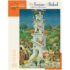 Images and scenes from the bible make great jigsaw puzzles.: The Tower of Babel Jigsaw Puzzle