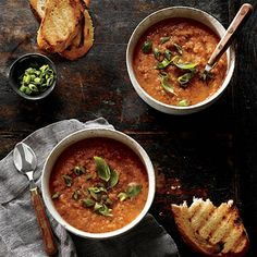 Grilled Gazpacho | CookingLight.com