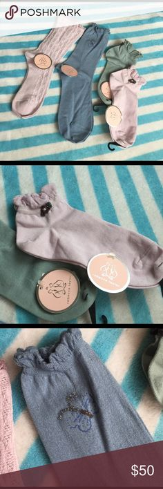 Rebecca Taylor socks set New, made in Japan. Hand carry from Japan Rebecca Taylor Accessories