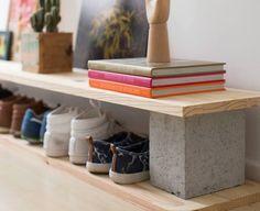 MENTŐÖTLET - kreáció, újrahasznosítás: Beton építőelemekből ...