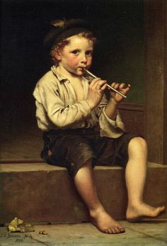 Rhythm - John George Brown - The Athenaeum Munier, Oil Painting Gallery, Creation Photo, Jewish Art, Victorian Art, Matisse, Beautiful Paintings, Paintings For Sale, Art Music