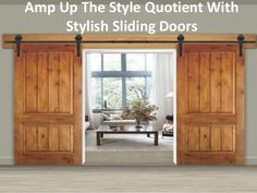 Which type of wood is most suitable for the door?