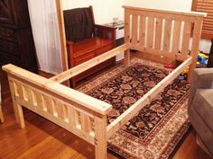 DIY 2×4 Bed Frame – HowToSpecialist – How to Build, Step by Step DIY Plans