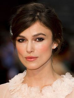 natural make up tutorial like keira knightley
