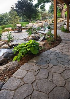 Xerocape and Hardscapes #hardscape #landscape #rootsnurseries