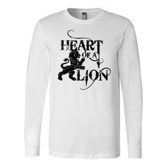 7cb05d4cd5e LIMITED EDITION CANVAS LONG SLEEVE SHIRT HEART OF A LION BK