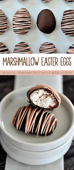 These homemade marshmallow Easter eggs (chocolate-covered, no less) may just be one of the coolest things I've ever made. Your kids will love them!