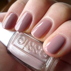 Color of the week: Essie Lyford Lilac.  I'm obsessed with Essie and absolutely love neutral colors!
