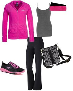 """Exercise and errands"" by jessicafain on Polyvore"