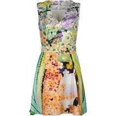 MARY KATRANTZOU Short dress ($1,048) ❤ liked on Polyvore